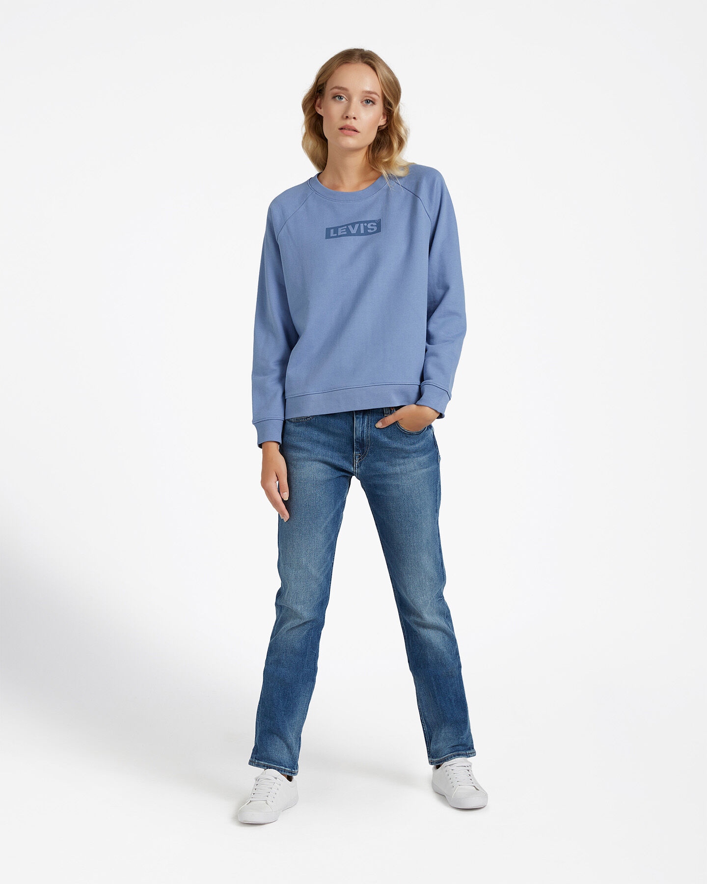 Felpa LEVI'S RELAXED GRAPHIC BOXTAB W S4083510 scatto 1