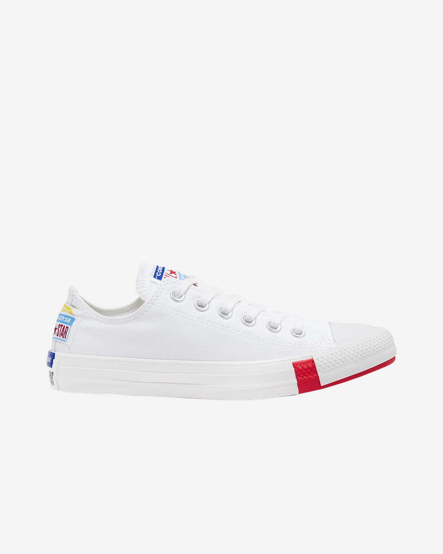Scarpe sneakers CONVERSE CHUCK TAYLOR ALL STAR LOGO STACKED M S4074925 scatto 0