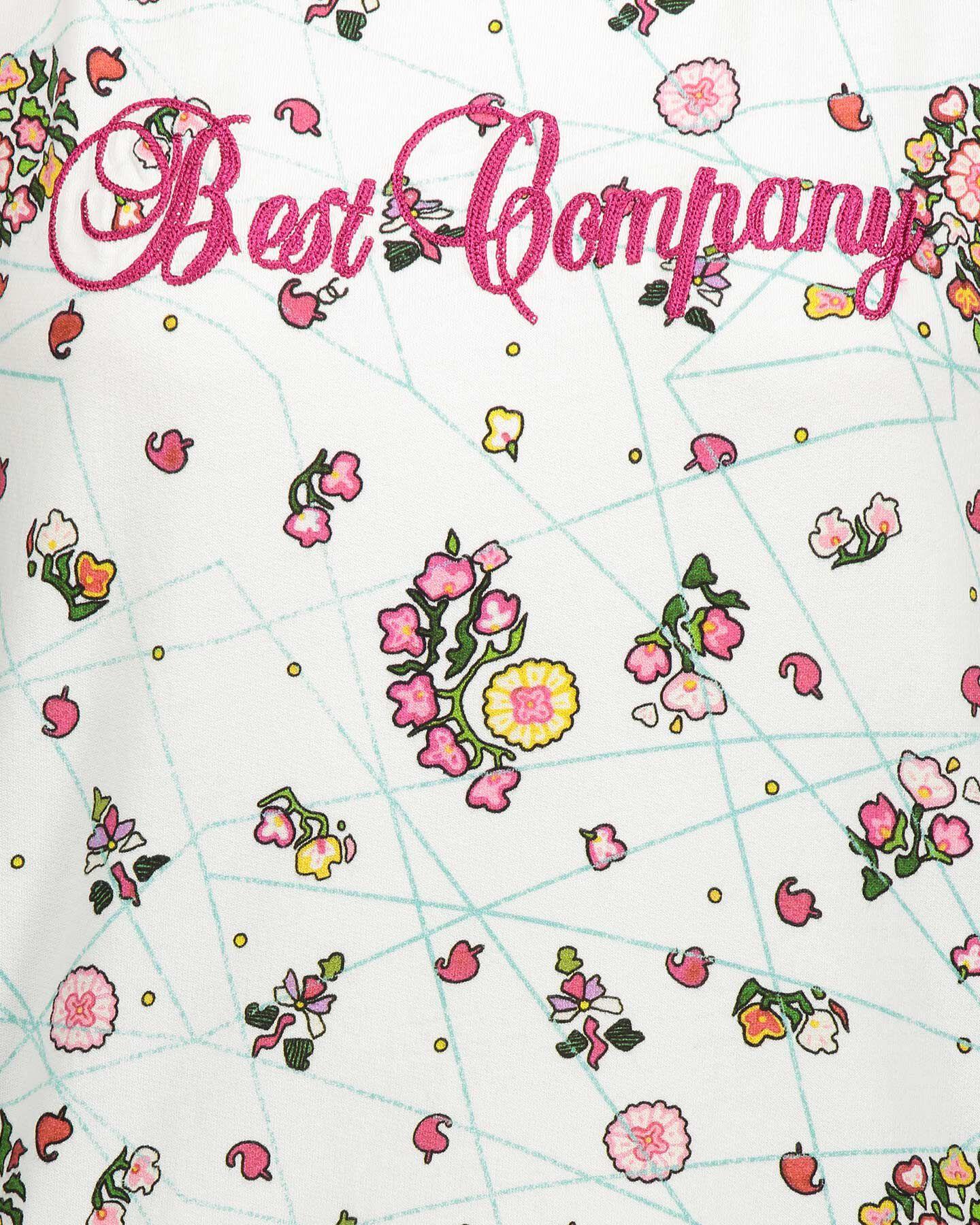 Felpa BEST COMPANY ALLOVER FLOWER W S4064580 scatto 2