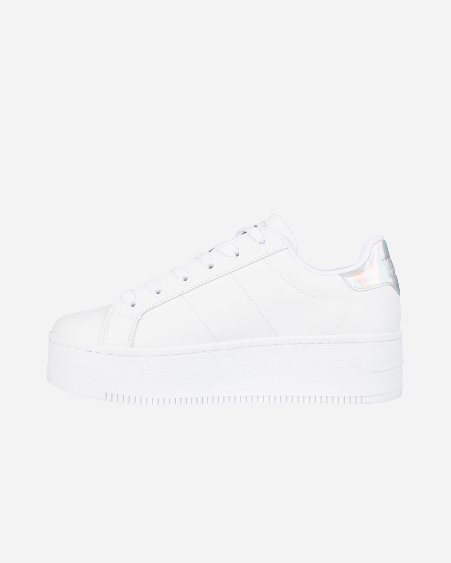 Scarpe sneakers TOMMY HILFIGER IRIDESCENT ICONIC W S4088120 scatto 4