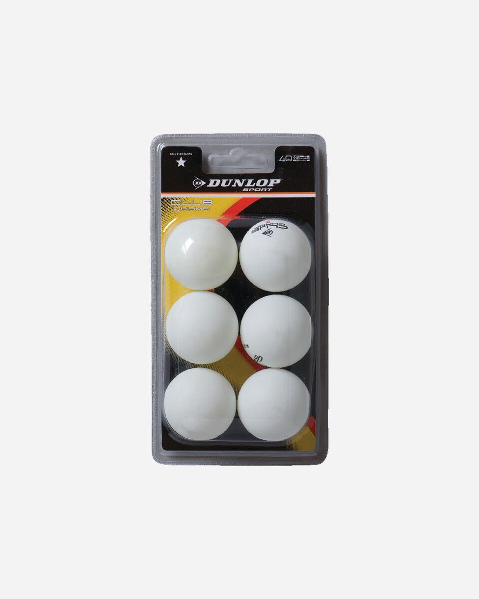 Accessorio ping pong DUNLOP CHAMPIONSHIP S4010055|WHT|UNI scatto 0