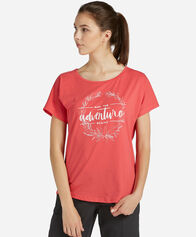 T-SHIRT donna 8848 ADVENTURE BEGINS W