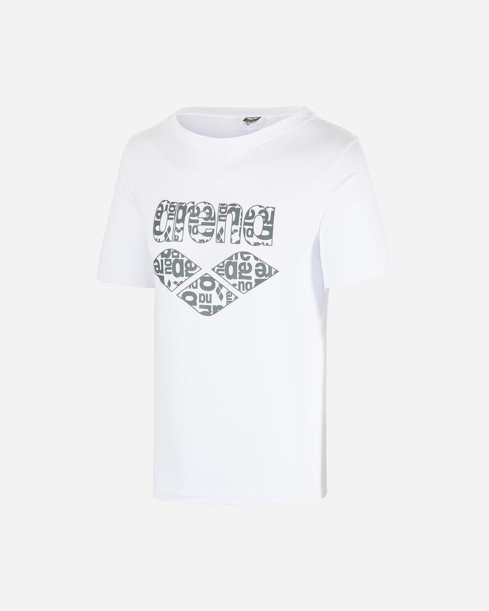 T-Shirt ARENA LOGO ALLOVER M S4080911 scatto 0