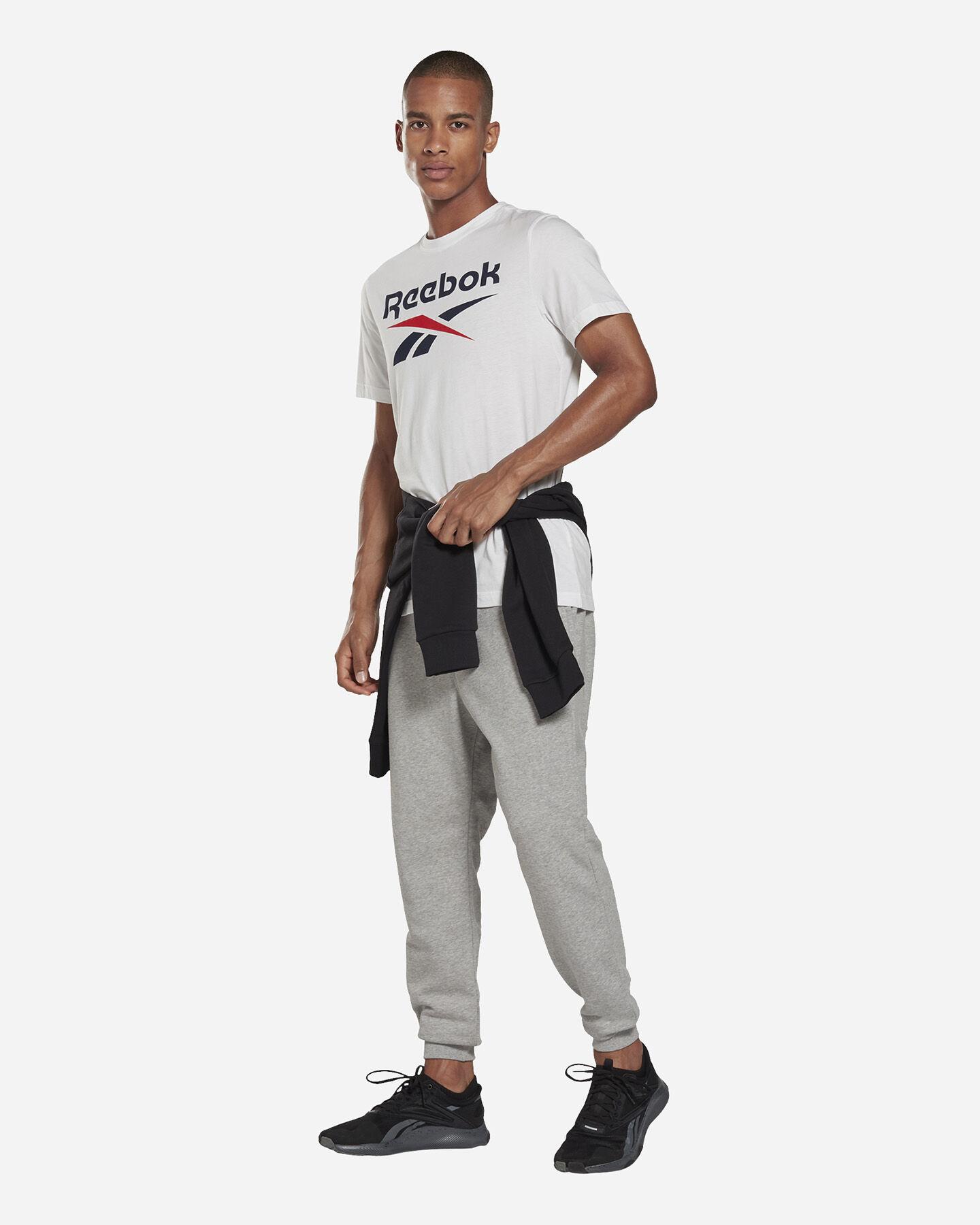 T-Shirt REEBOK CLASSIC LOGO M S5280183 scatto 6