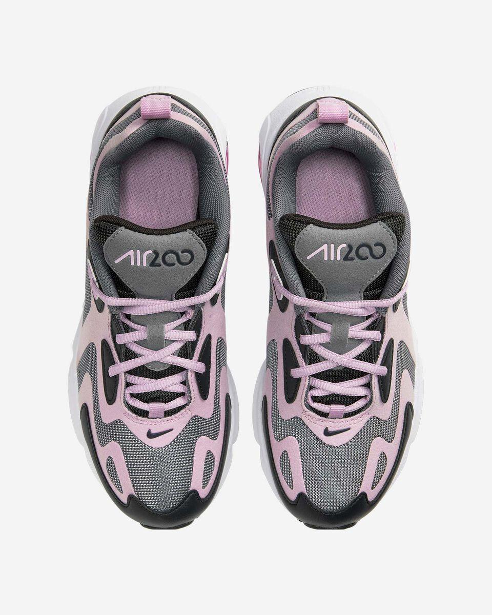 Scarpe sneakers NIKE AIR MAX 200 GS JR S5161544 scatto 3