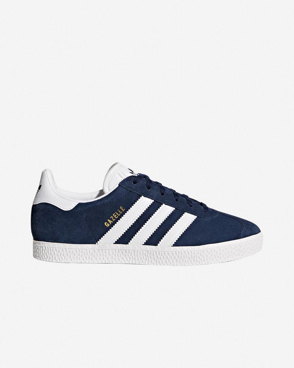 Scarpe sneakers ADIDAS GAZELLE JR GS S4046770|CONAVY/FTW|3 scatto 0