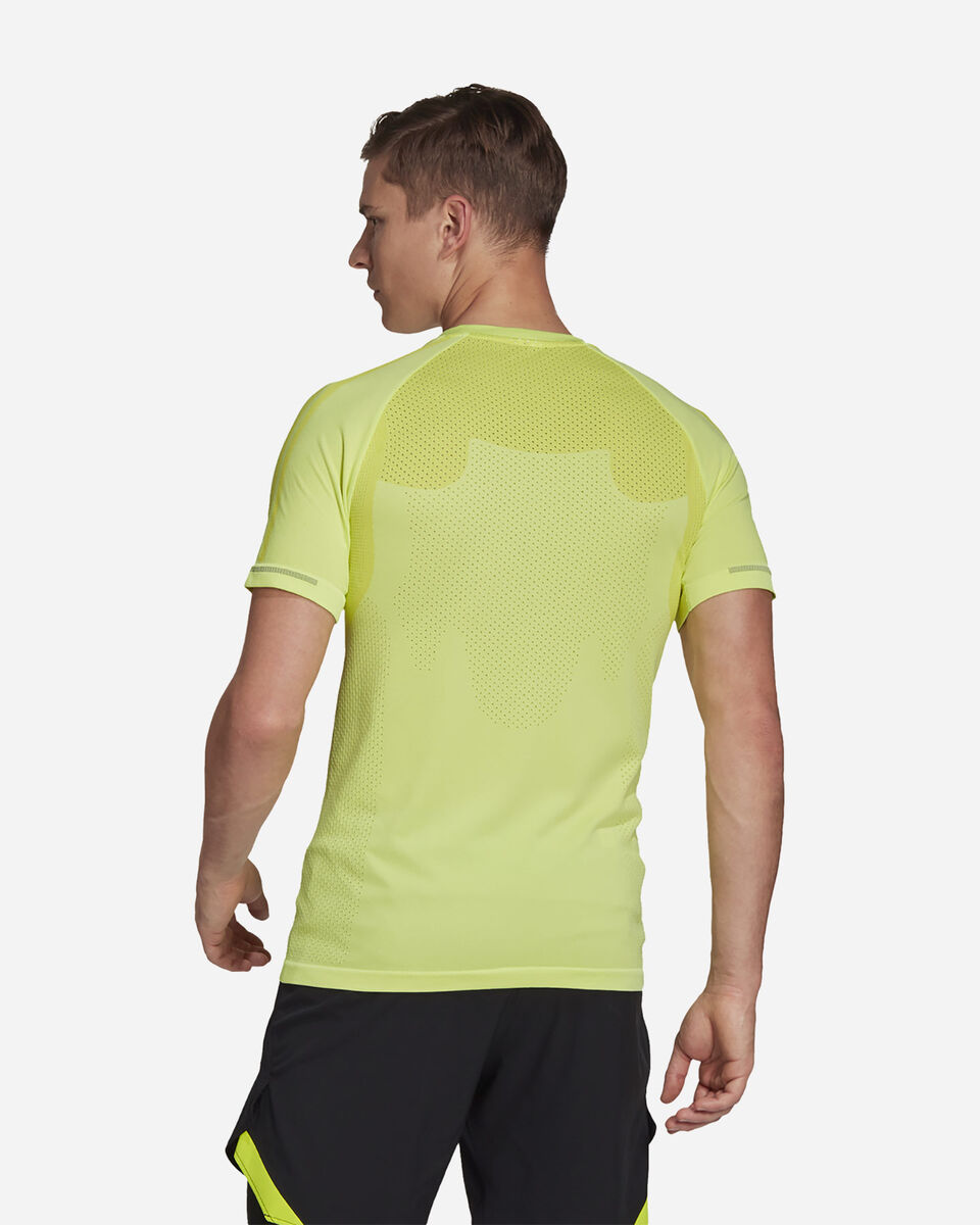 T-Shirt running ADIDAS PRIMEKNIT M S5275149 scatto 2