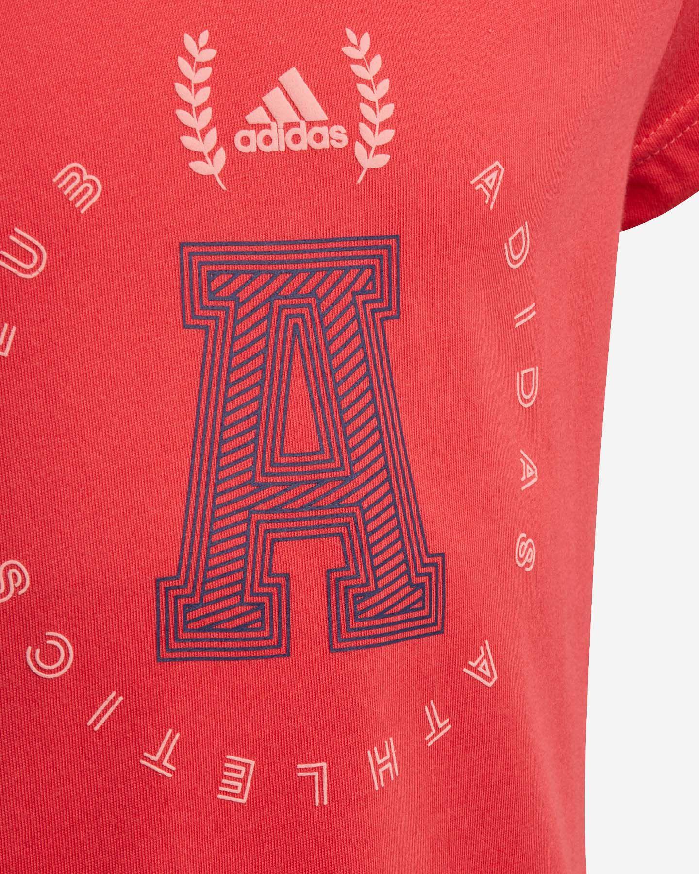 T-Shirt ADIDAS ATHLETICS CLUB GRAPHIC JR S5148657 scatto 2