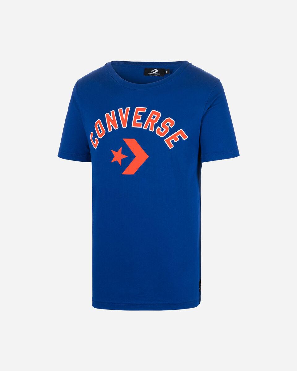 T-Shirt CONVERSE CHEVRON M S5181117 scatto 0