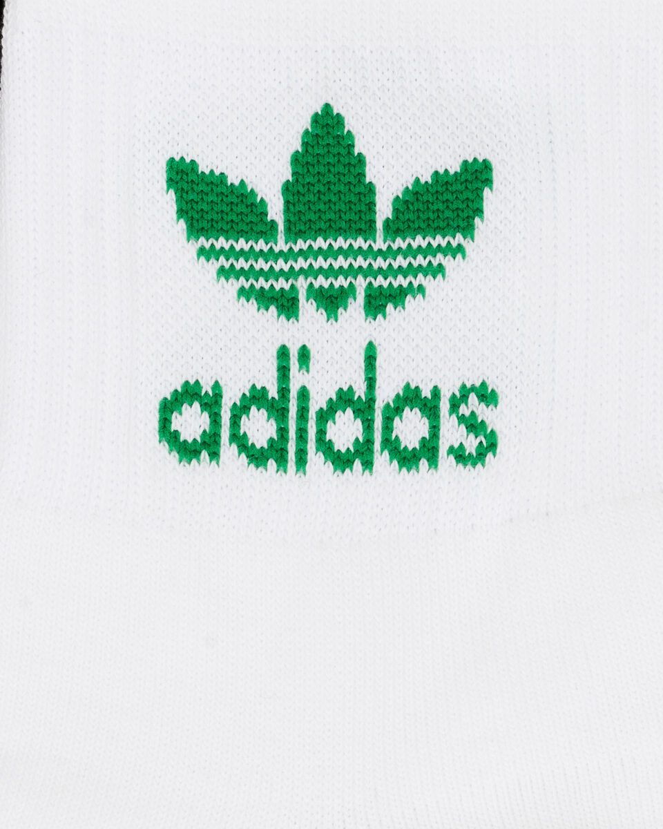 Calze ADIDAS SOLID CREW 3 PACK M S5210917 scatto 2
