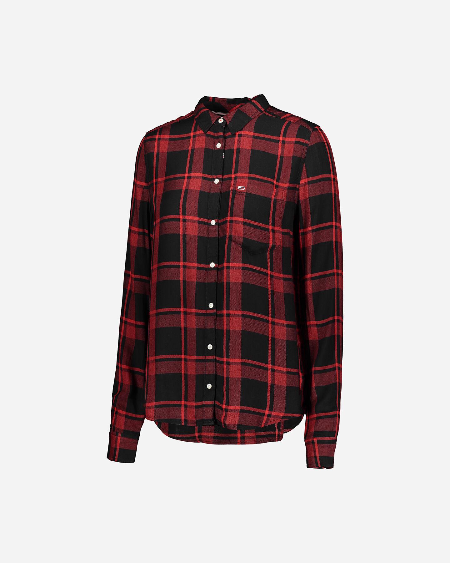 Camicia TOMMY HILFIGER CHECK W S4083549 scatto 0