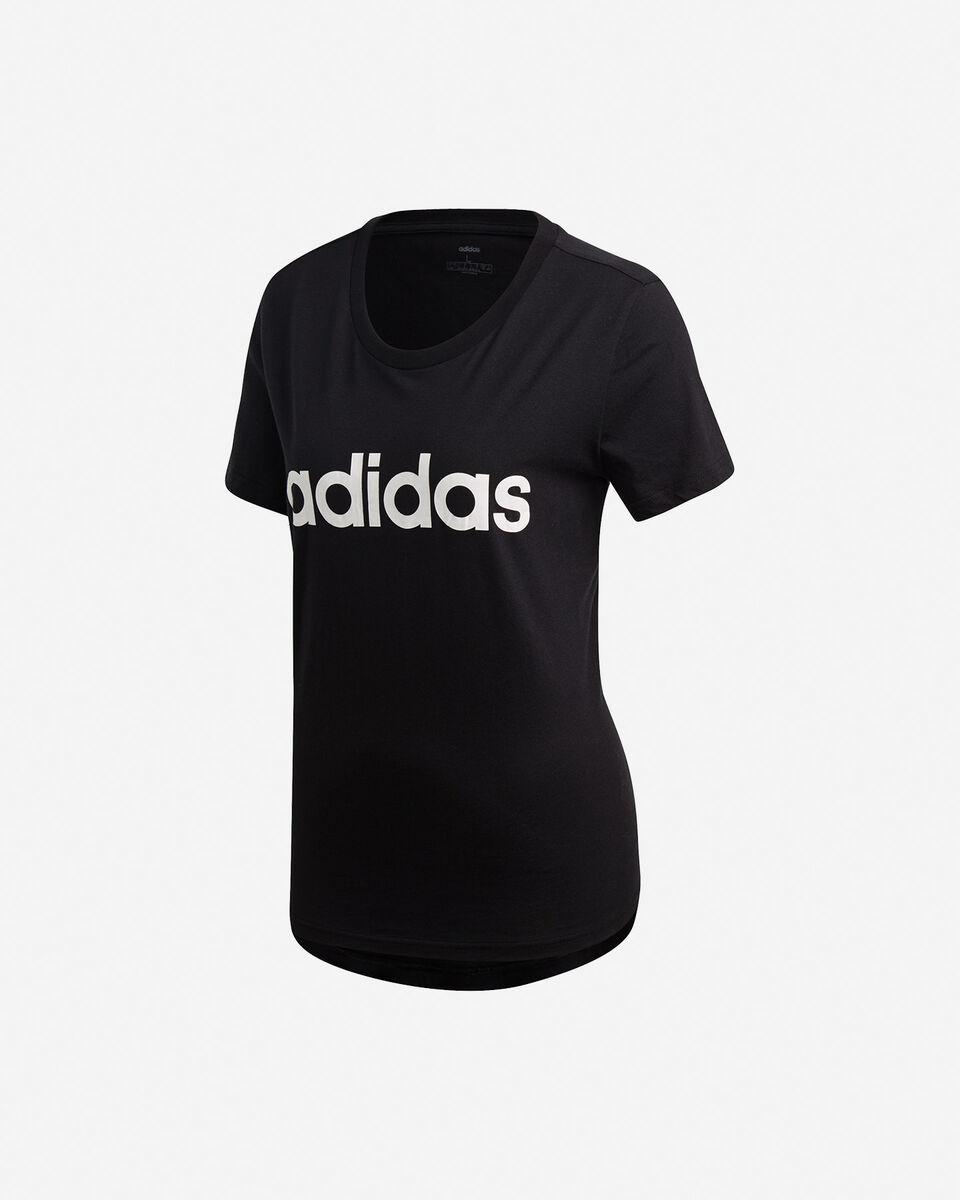 T-Shirt ADIDAS ESSENTIALS LINEAR W S2013812 scatto 5