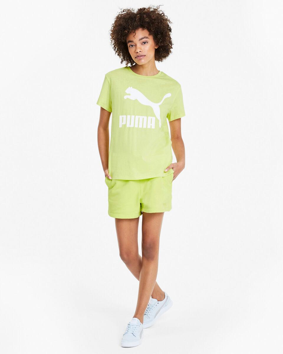 T-Shirt PUMA LOGO W S5189648 scatto 4