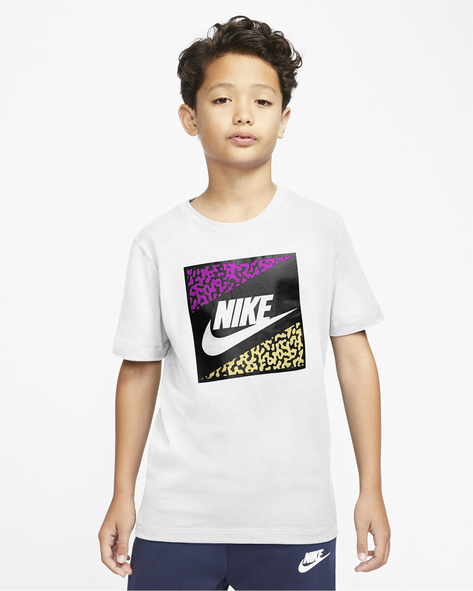 T-Shirt NIKE FUTURA JR S5197420 scatto 2