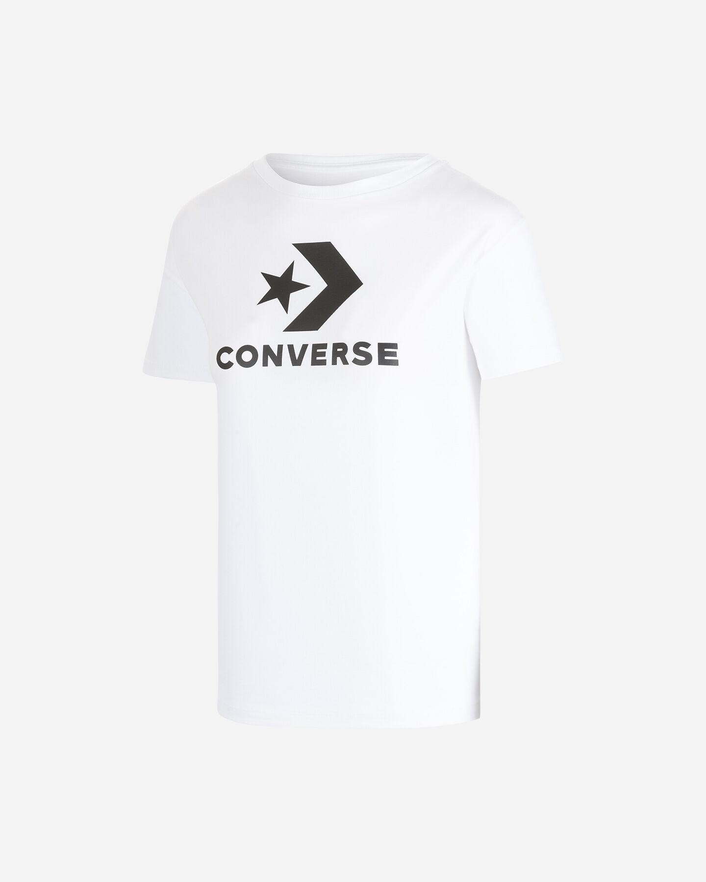 T-Shirt CONVERSE LOGO STAR CHEVRON W S5176853 scatto 0