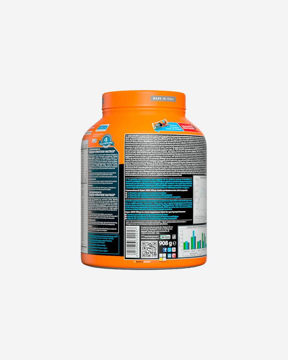 Energetico NAMED SPORT SUPER 100% WHEY SMOOTH CHOCOLATE 908G S1308870 scatto 3