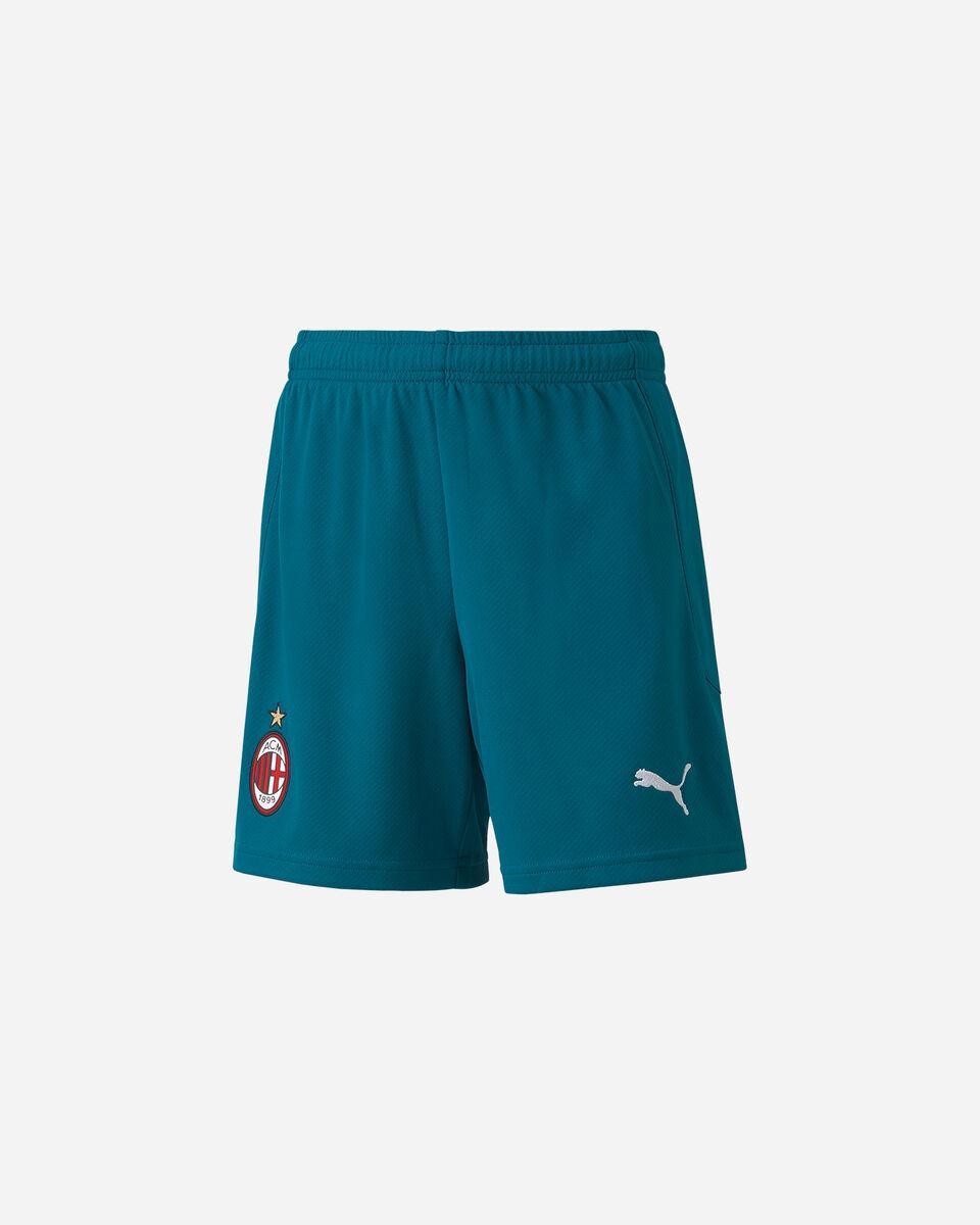 Pantaloncini calcio PUMA MILAN THIRD 20-21 JR S5235795 scatto 0