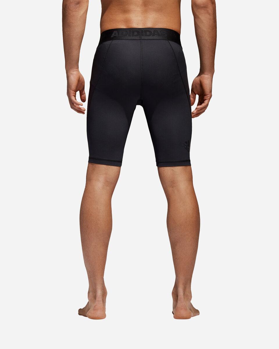 Pantaloncini intimo tecnico ADIDAS ALPHASKIN SPRT TIGHT SHORT TIGHT M S4033462 scatto 2