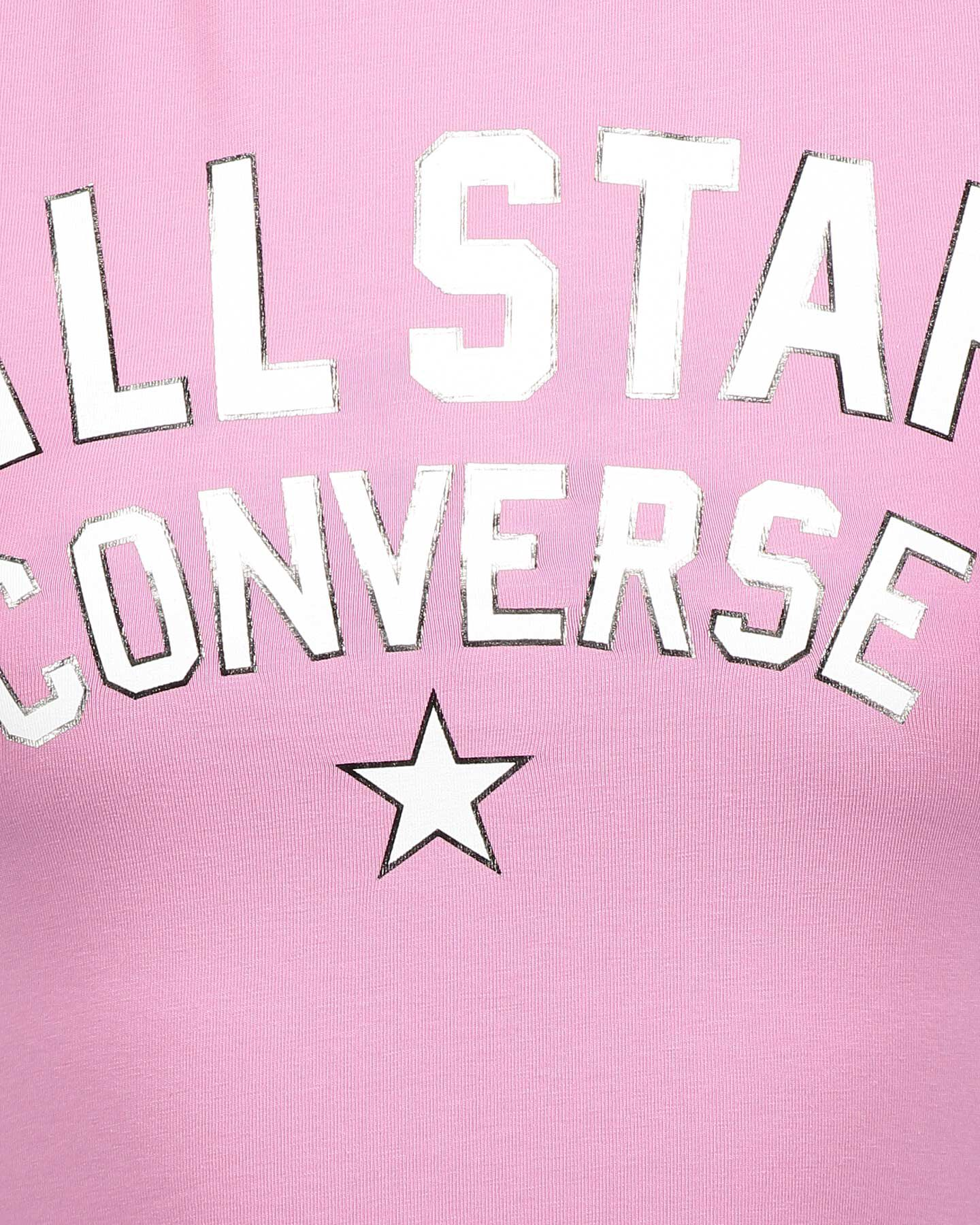 T-Shirt CONVERSE ALL STAR W S5181230 scatto 2