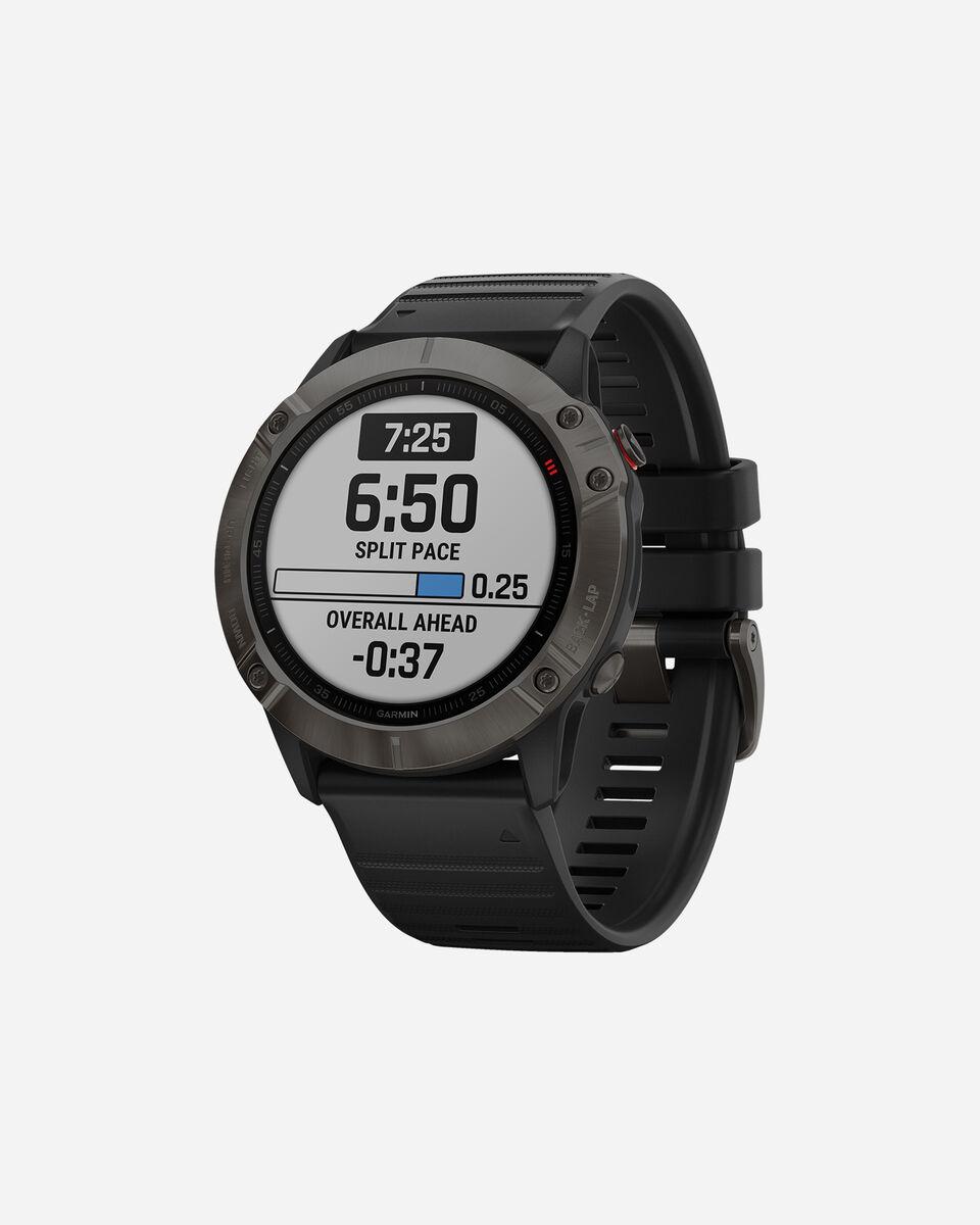 Orologio multifunzione GARMIN FENIX 6X SAPPHIRE S4076558 11 UNI scatto 1