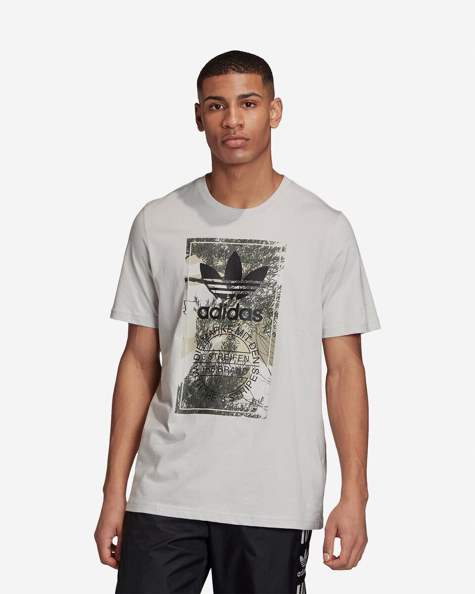 T-Shirt ADIDAS CAMO TONGUE M S5210682 scatto 2