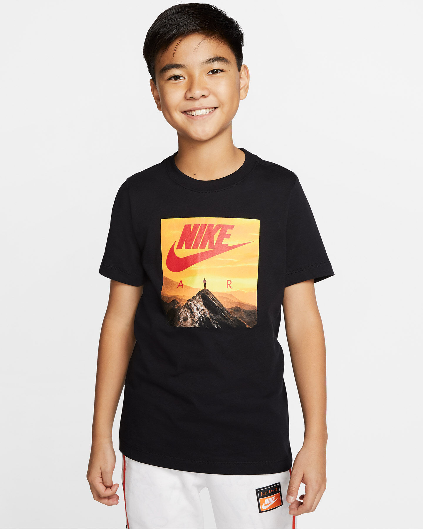 T-Shirt NIKE AIR PHOTO JR S5165058 scatto 2