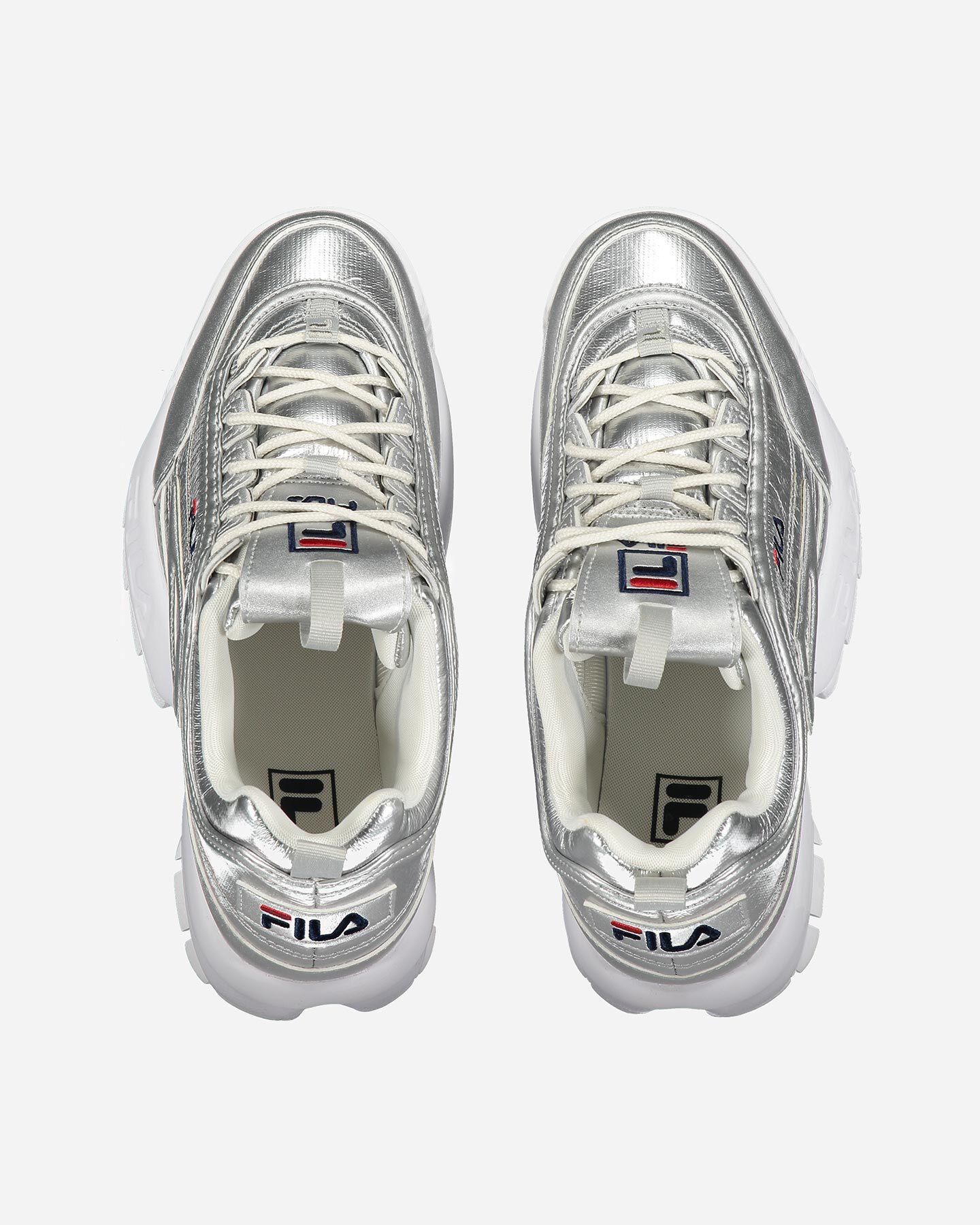 Scarpe sneakers FILA DISRUPTOR LOW W S4081579 scatto 3