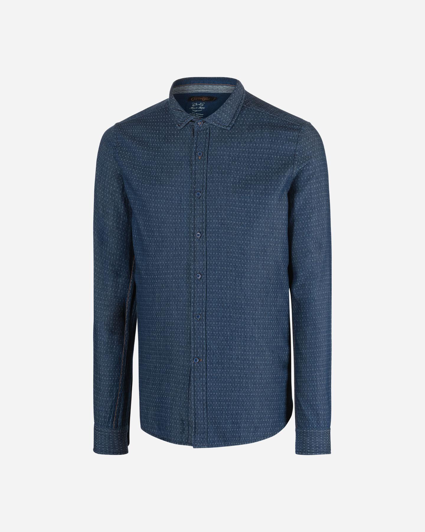 Camicia COTTON BELT DOBBY SLIM MEDIUM M S4070899|MD|L scatto 5