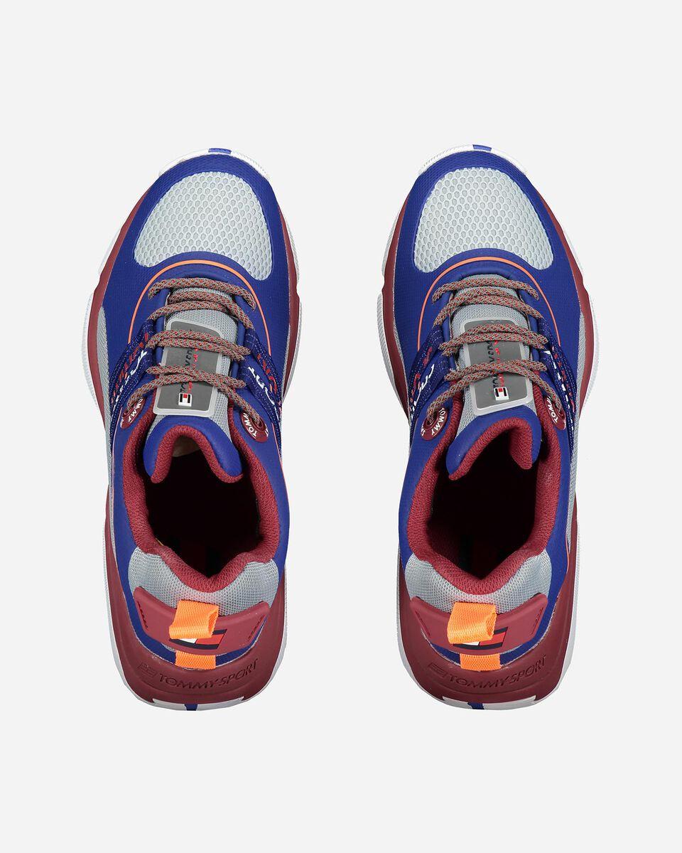 Scarpe sneakers TOMMY HILFIGER CITY CBK M S4071983 scatto 3