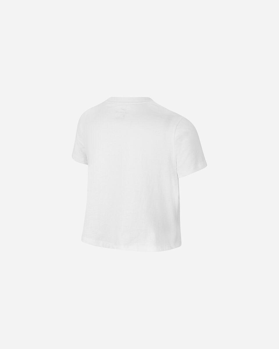T-Shirt NIKE CROP FUTURA  JR S5270096 scatto 1