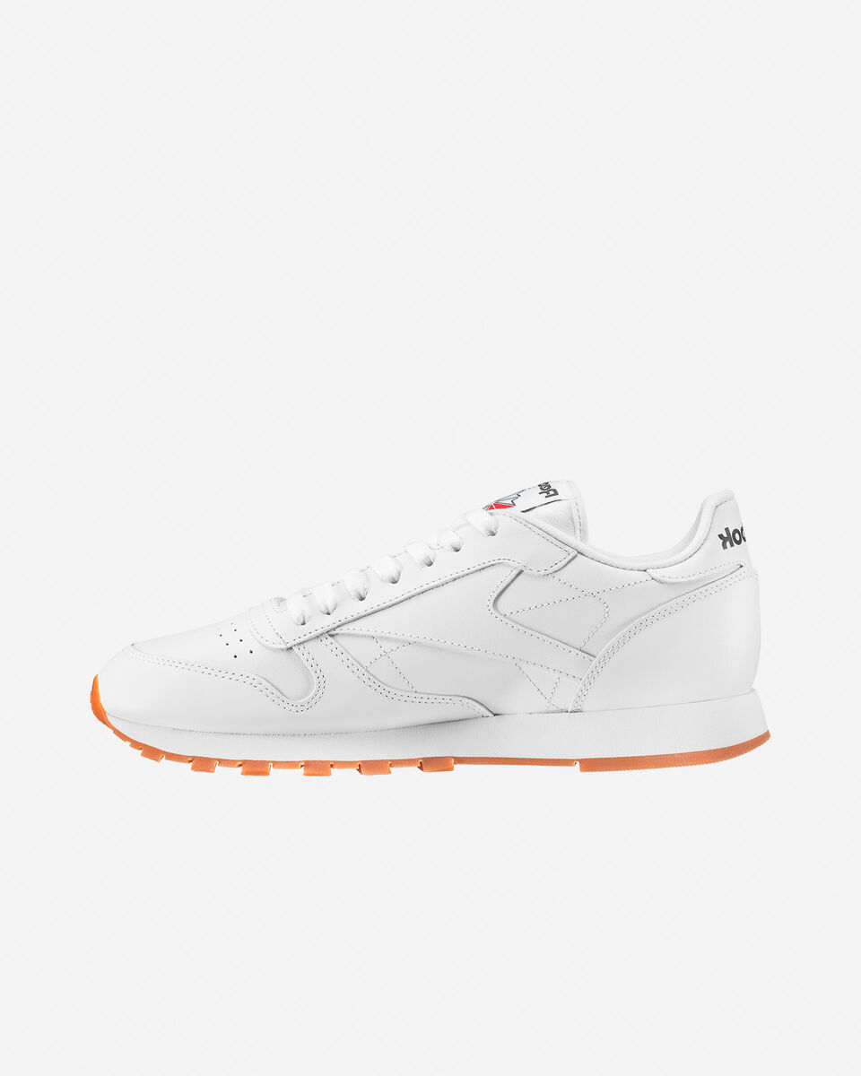 Scarpe sneakers REEBOK CLASSIC LEATHER M S4023267 scatto 5