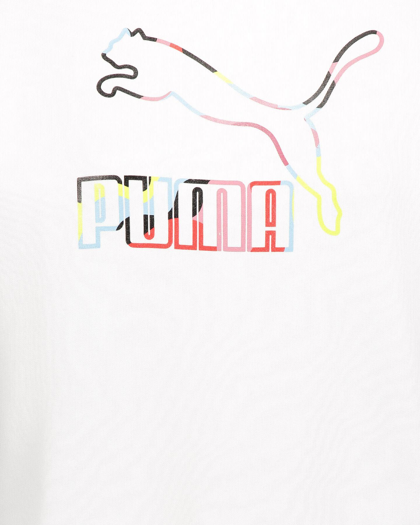 Felpa PUMA ROUND BLOGO  W S5339966 scatto 2