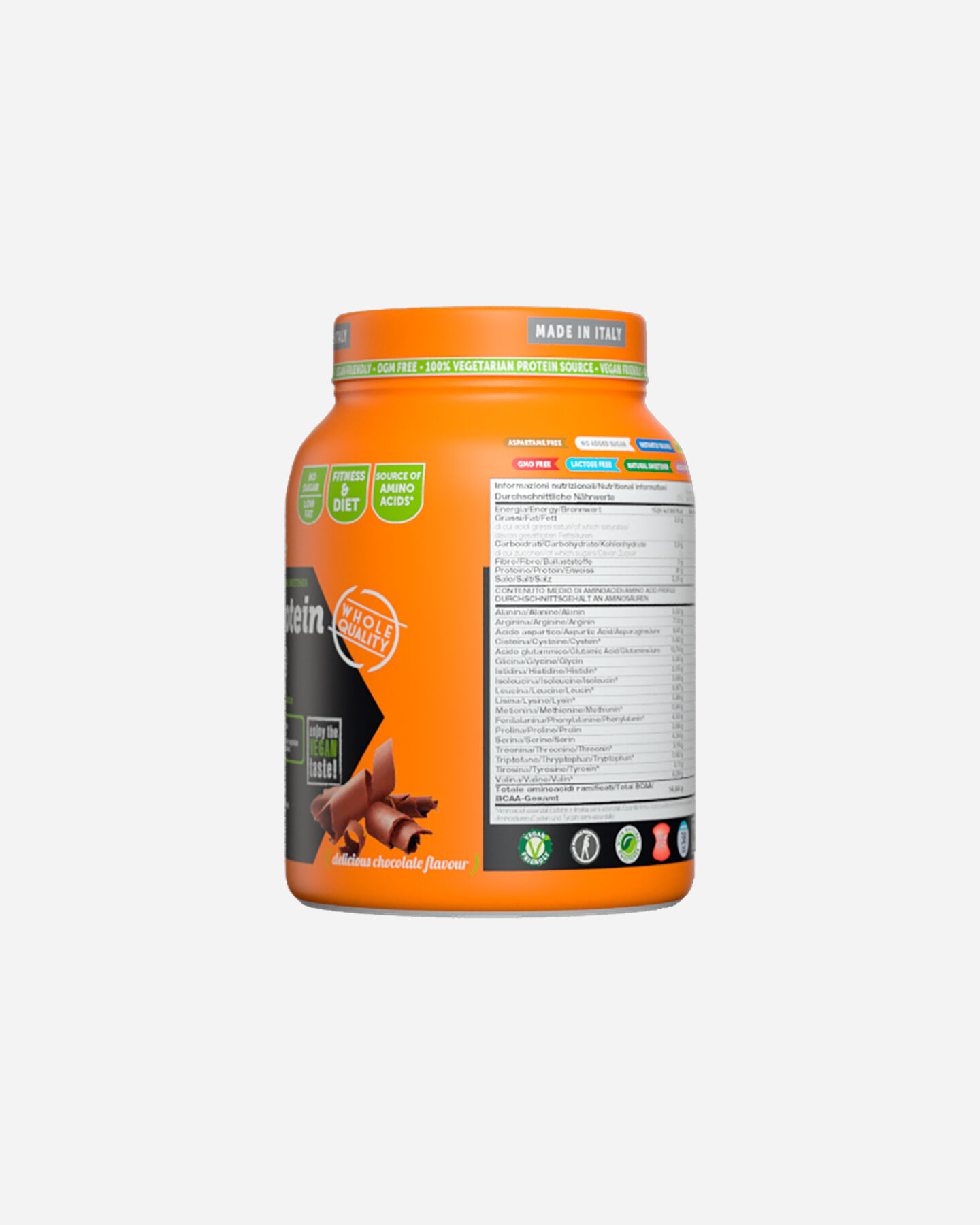 Energetico NAMED SPORT SOY PROTEIN ISOLATE DELICIOUS CHOCOCOLATE 500G S1320793|1|UNI scatto 4