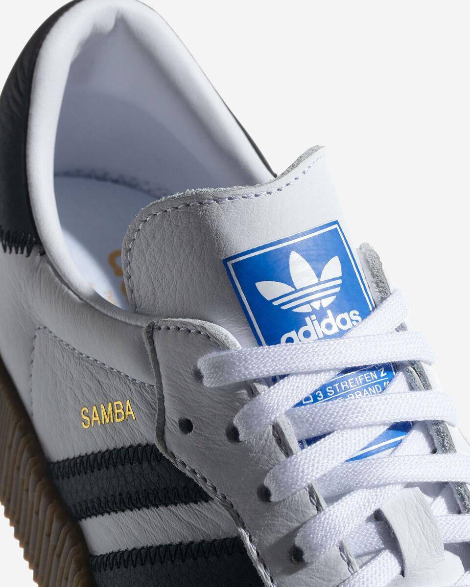 Scarpe sneakers ADIDAS SAMBAROSE W S2008375 scatto 3