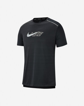 T-Shirt running NIKE DRI-FIT MILER FLASH M