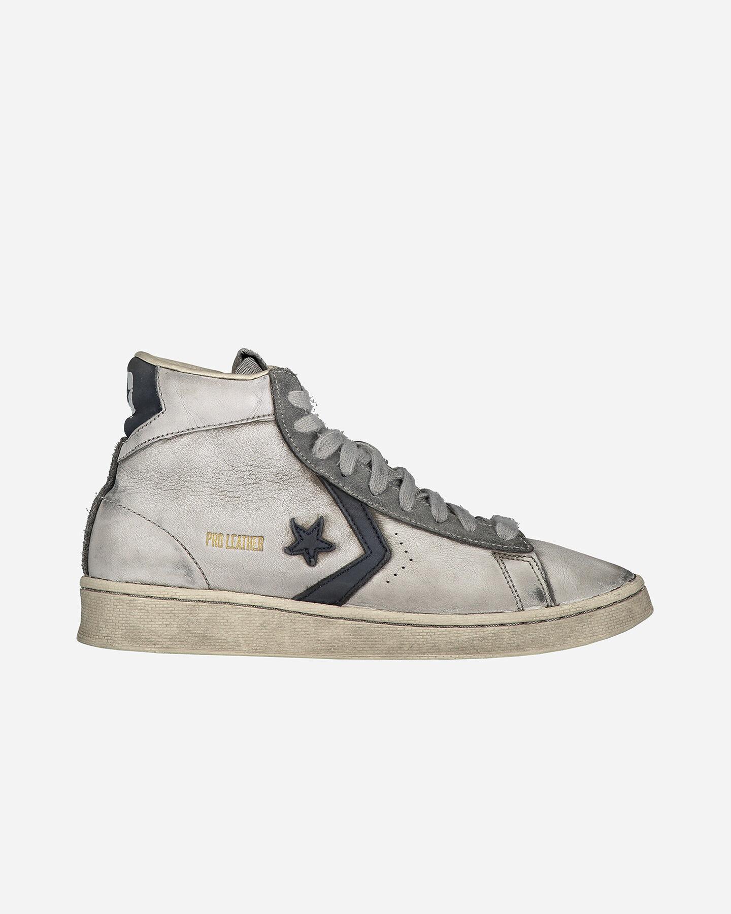 Scarpe sneakers CONVERSE SMOKE IN PRO LEATHER MID M S5238002 scatto 0