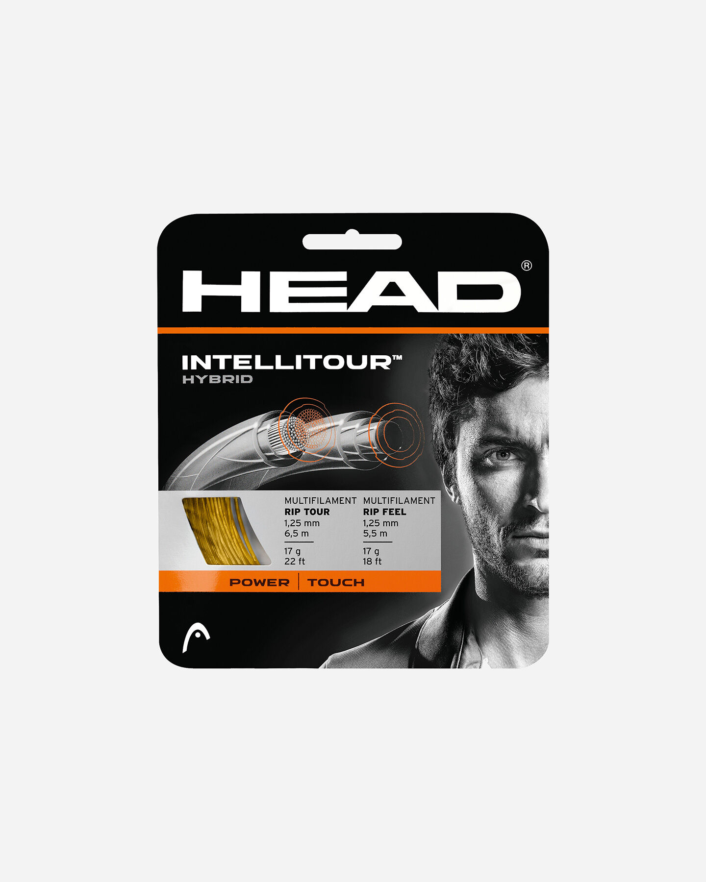 Corde tennis HEAD SET INTELLITOUR CALIBRO 1,30 S5220963 NT 16 scatto 0