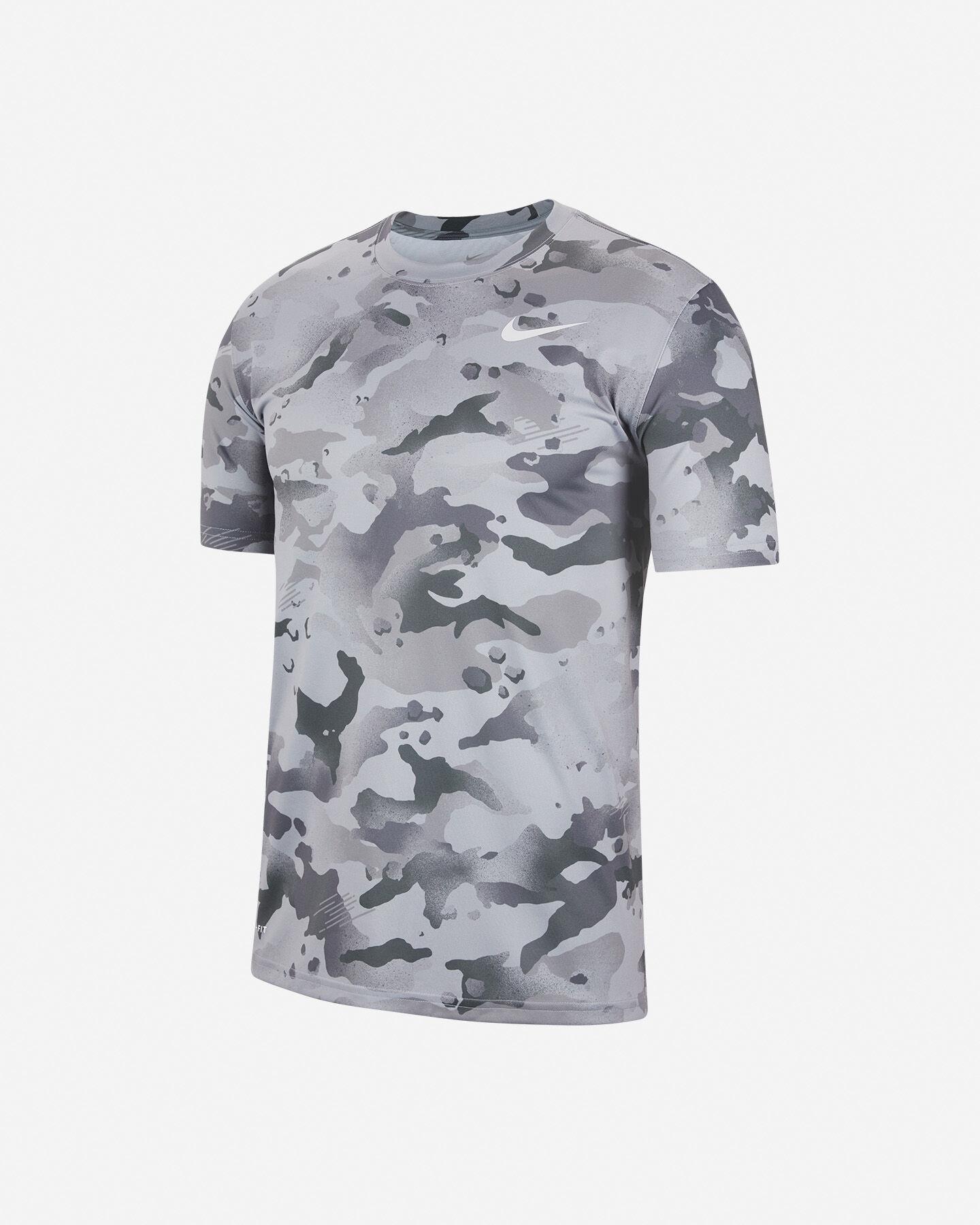 T-Shirt training NIKE DRY CAMO M S5225716 scatto 0