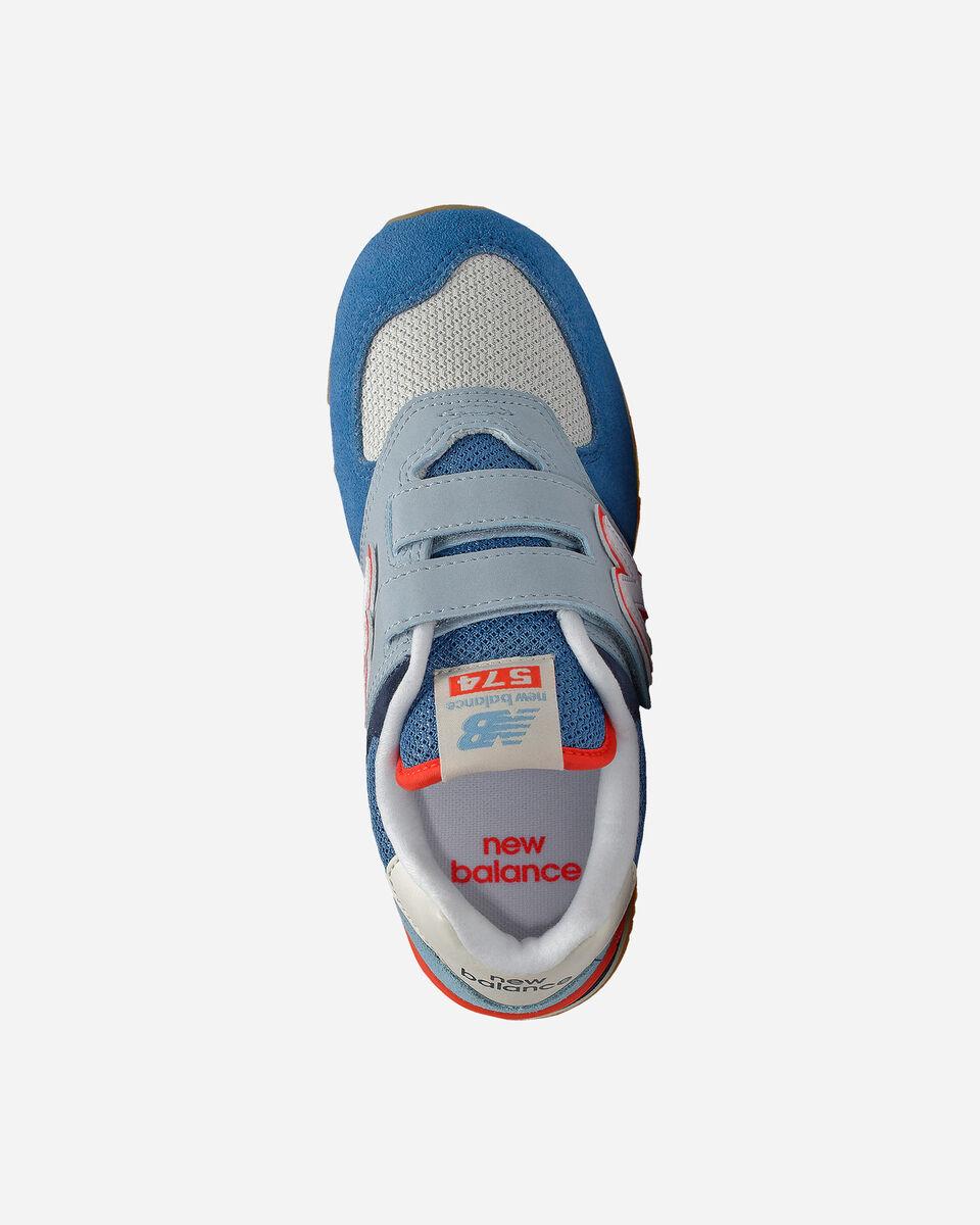 Scarpe sportive NEW BALANCE 574 JR PS S5167194 scatto 2