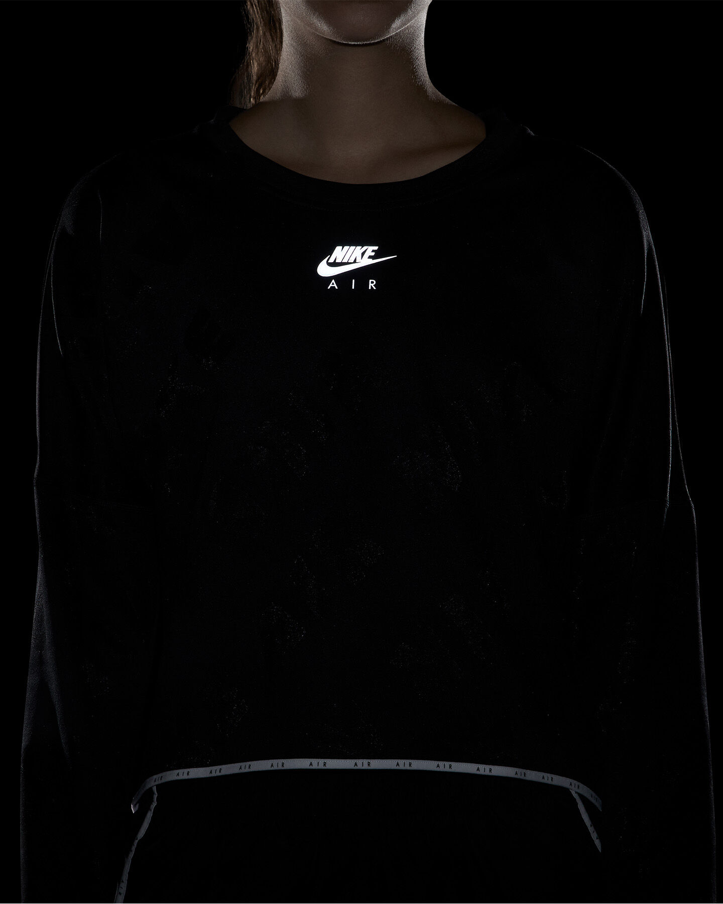 Maglia running NIKE AIR MIDLAYER W S5163970 scatto 5