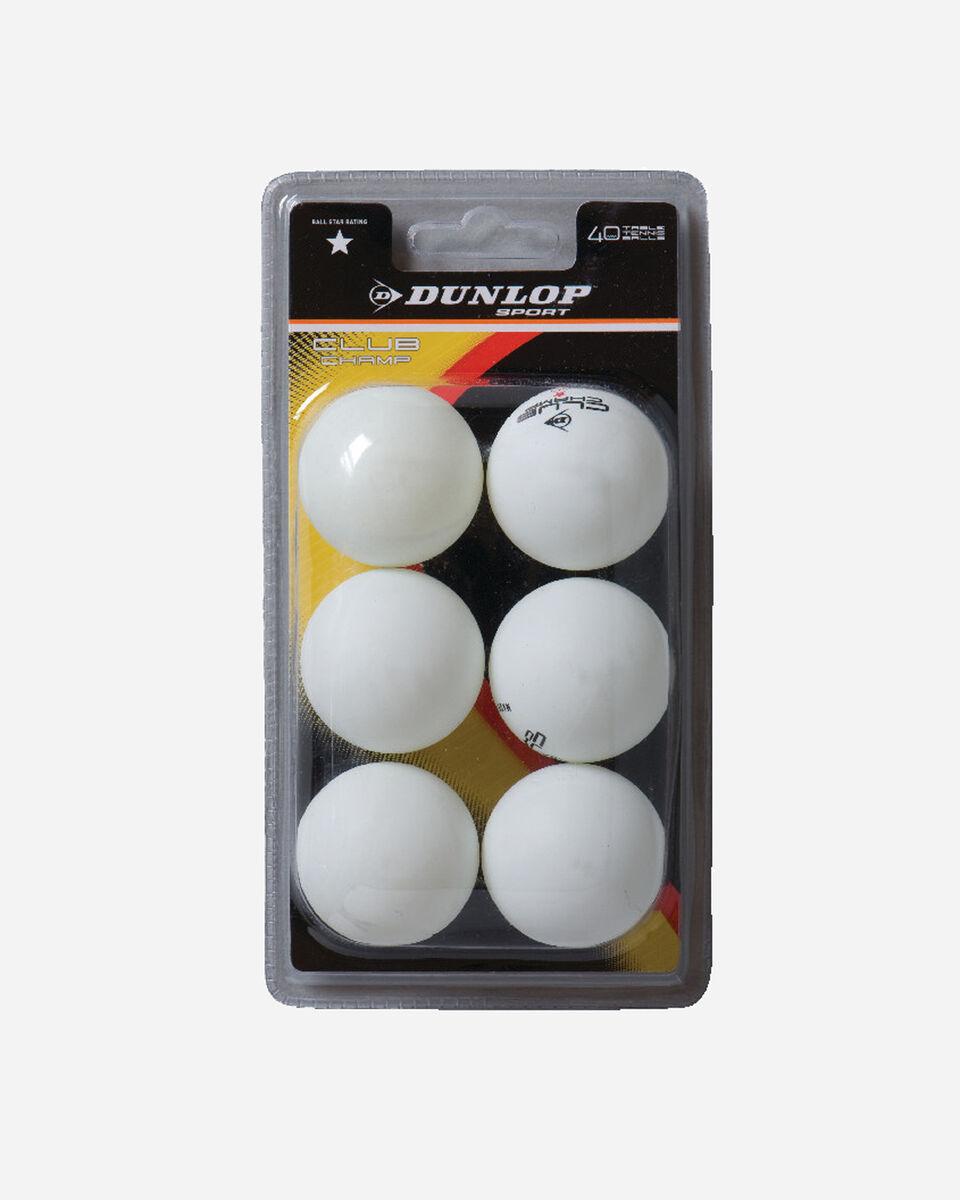 Accessorio ping pong DUNLOP CHAMPIONSHIP S4010055|WHT|UNI scatto 1
