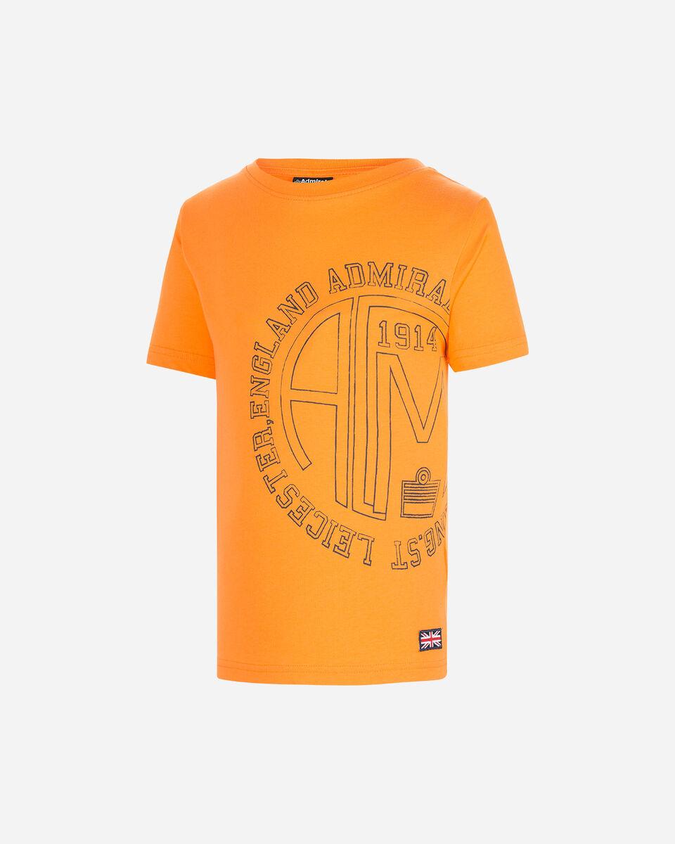 T-Shirt ADMIRAL BIG JR S4087543 scatto 0
