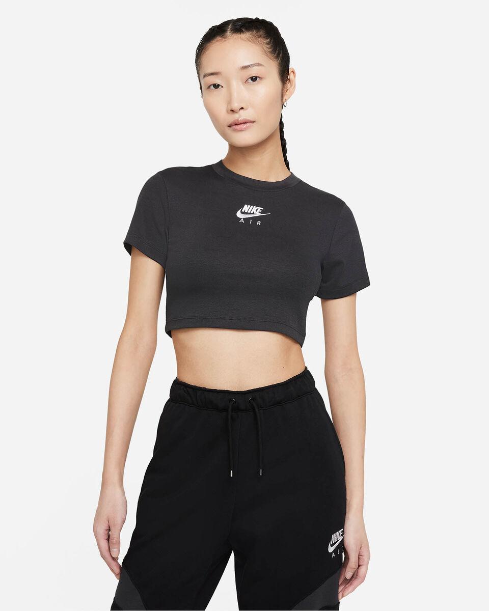 T-Shirt NIKE CROP AIR W S5320091 scatto 0