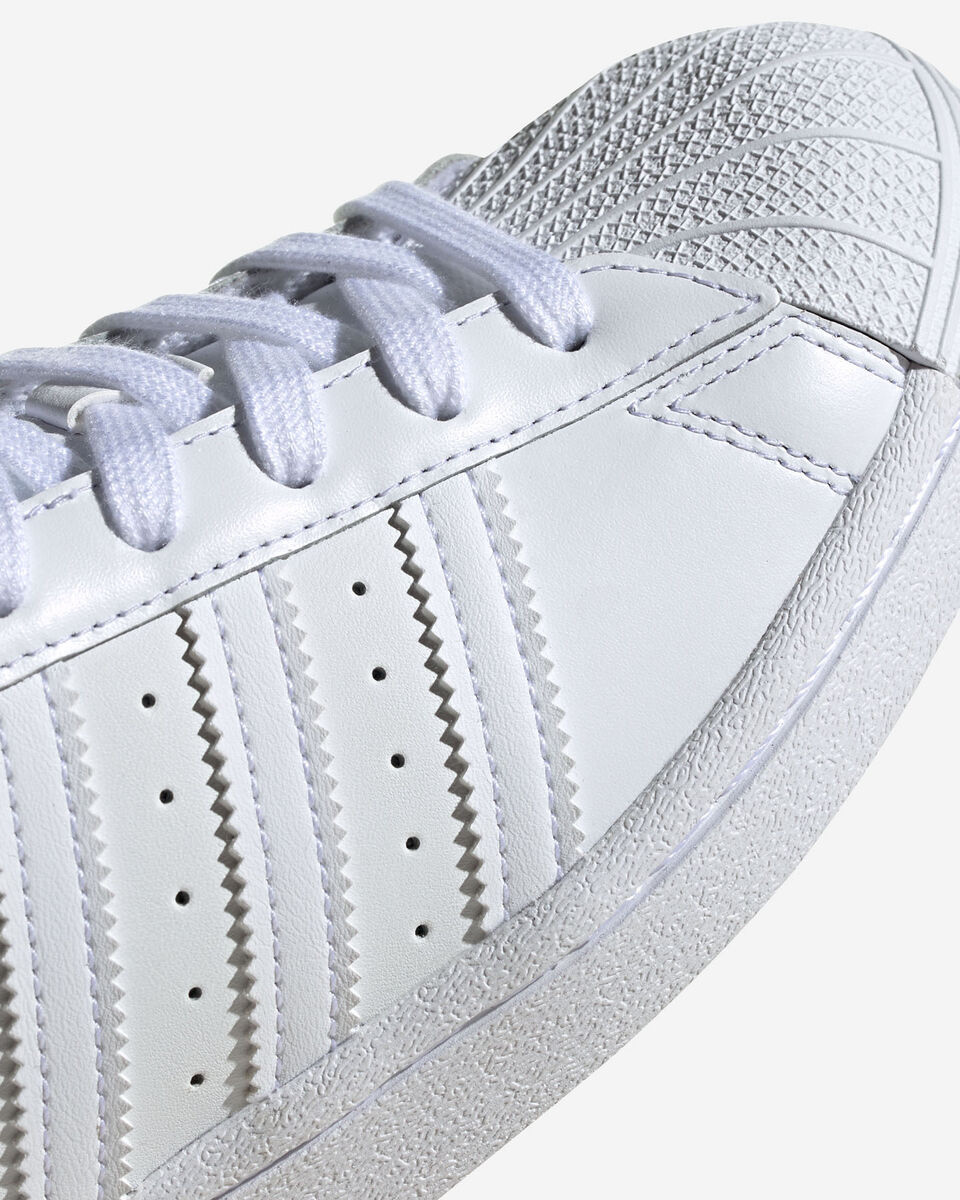 Scarpe sneakers ADIDAS SUPERSTAR GS JR S5151488 scatto 4