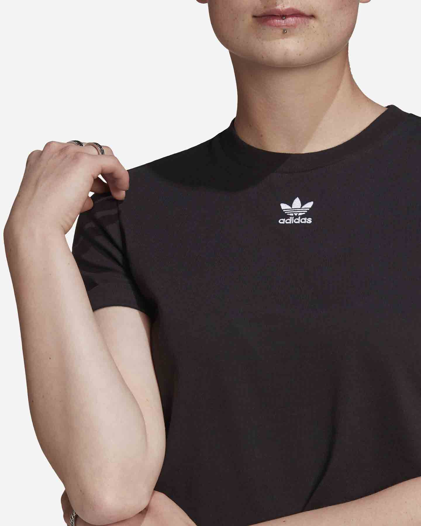 T-Shirt ADIDAS CROP TOP W S5276691 scatto 3