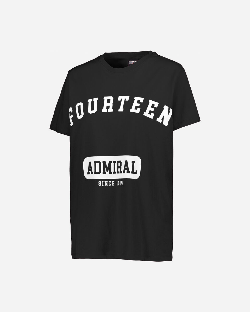 T-Shirt ADMIRAL LETTERING W S4087709 scatto 0