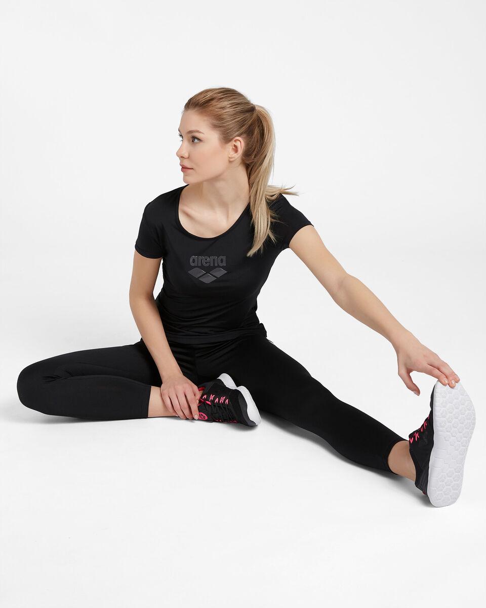 T-Shirt training ARENA CARRE' RETRO MESH W S4087237 scatto 1