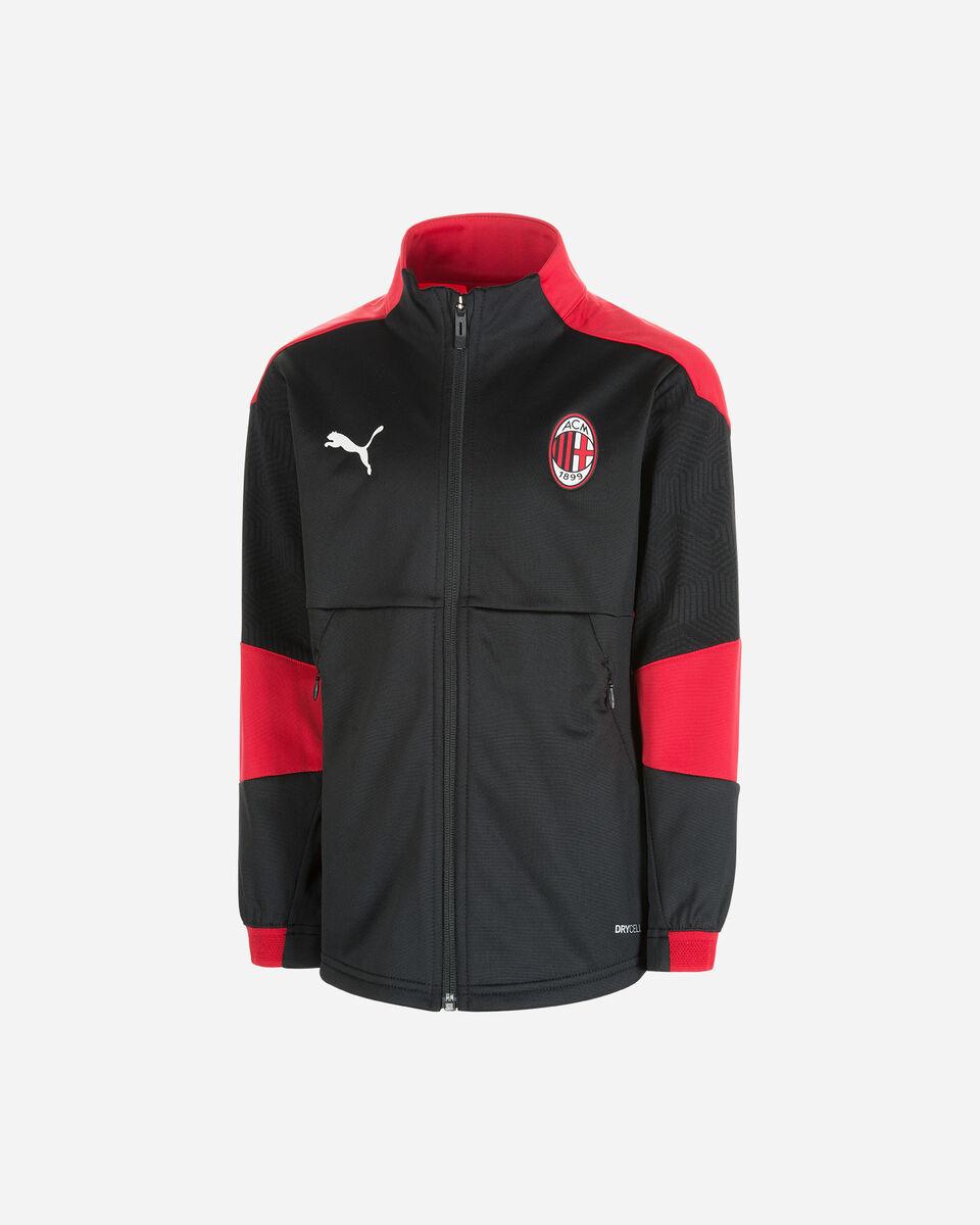 Abbigliamento calcio PUMA MILAN TRAIN ZIP JR S5235850 scatto 0