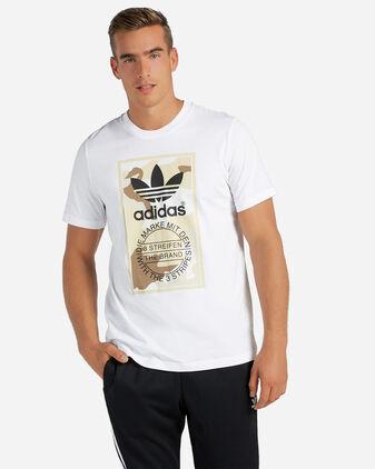 T-Shirt ADIDAS CAMOUFLAGE TONGUE LABEL M