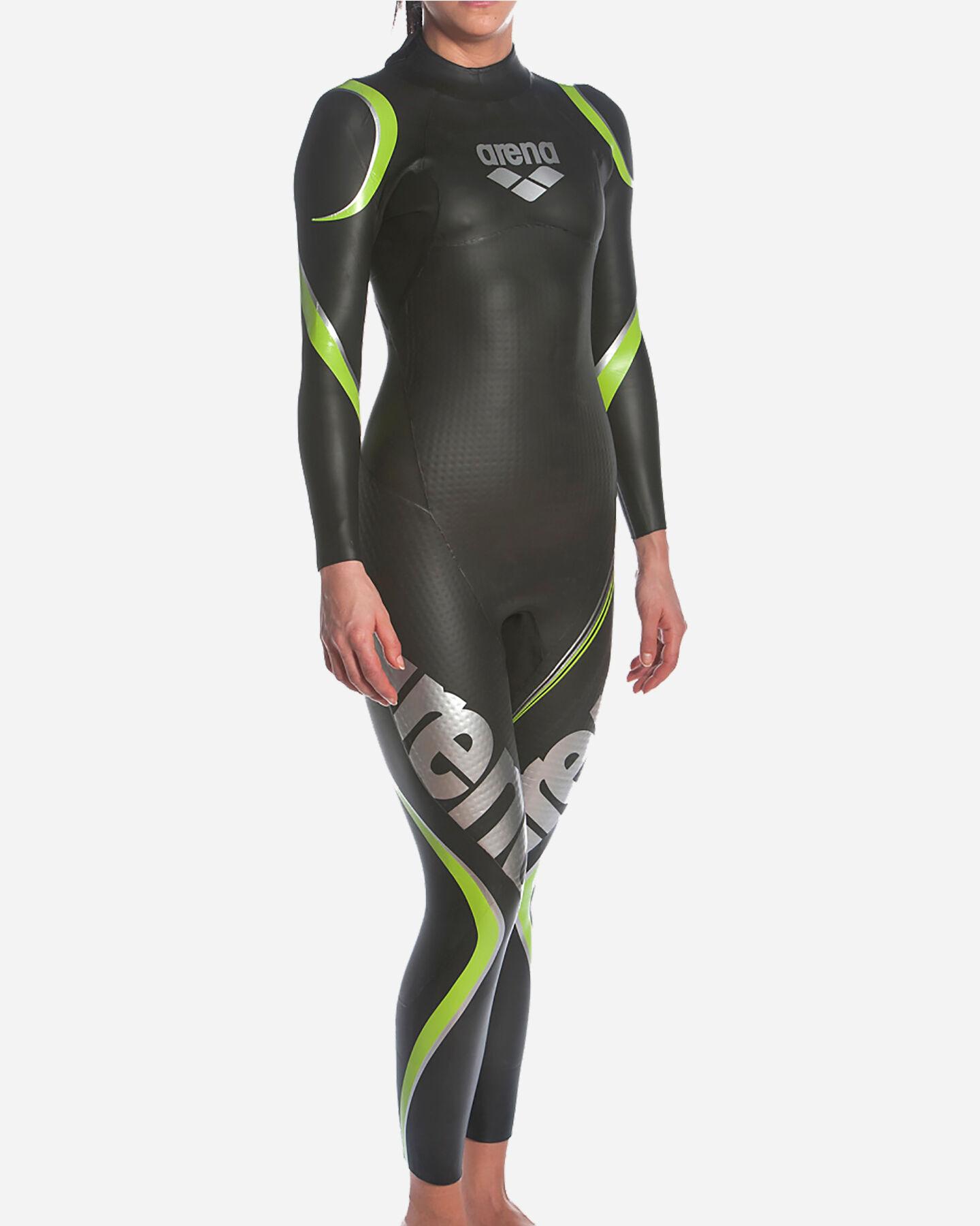 Costume piscina ARENA TRIWETSUIT CARBON W S5042136 scatto 3